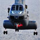 Eye Evil Helicopter.