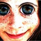 Огромные глаза.