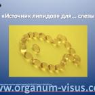 Dry Eye News. Систейн Витамин (Systane Vitamin, Alcon). Источник Омега-3 для слезы.