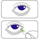 """Офтолик® тест Лиссаминовый зеленый, Ophtolique (test Lissamine green), Sentiss. Диагностика """"сухого глаза"""". Аптека для глаз портала Орган зрения www.organum-visus.com Рис. 3."""