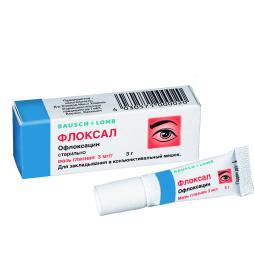 Флоксал, Floxal. Глазная мазь. Инфекция в глазу. Аптека для глаз портала Орган зрения www.organum-visus.com