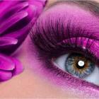 Makeup Eye. Фиолетовые веки.