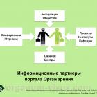 Информационные партнеры офтальмологического портала Орган зрения organum-visus.ru