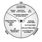 Факторы риска зрительной работы с дисплеями.