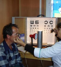 Осмотр глазного дна. Офтальмоскопия.  Портал Орган зрения www.organum-visus.com