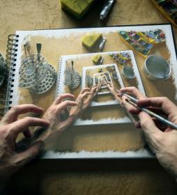 Recursive drawings. Мир Мориса Корнелиуса Эшера. About Eyes everywhere, www.organum-visus.com