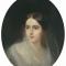 Наталия Гончарова (Пушкина-Ланская), 37 лет. Художник И. Макаров (1849г.)